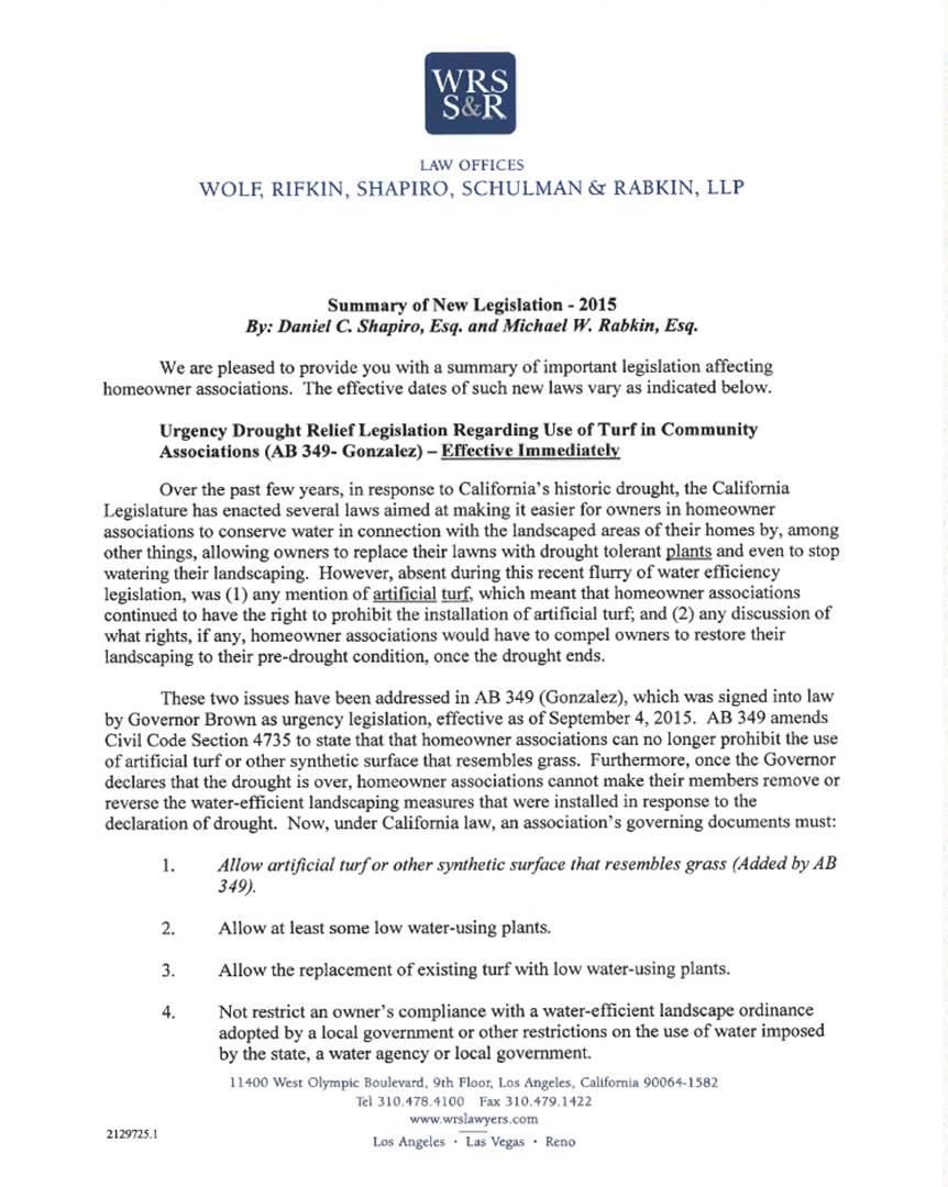 Law Updates 2015-1